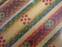 画像1: 【茶道具】 出帛紗 龍村美術織物 「花文暈繝錦」  *正絹*出袱紗*出服紗*