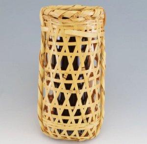 画像1: 【茶道具】 花入 鉈鞘籠  利休所持写  *なたのさや*鉈篭   (1)
