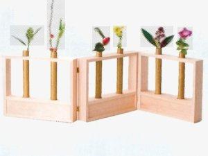 画像1: 【茶道具】 花寄結界  杉木地  (折畳式)  *花寄せ*花結界 (1)