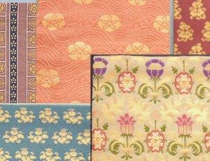 画像1: 【茶道具】 織り方 「金襴」 の 出帛紗  *北村徳斎*  *出袱紗*出服紗 (1)