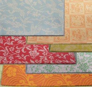 画像1: 【茶道具】 織り方 「紹巴 (しょうは)」 の 出帛紗  *北村徳斎*  *出袱紗*出服紗 (1)