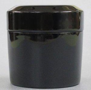 画像1: 【茶道具】 利休茶桶 真塗  *面取茶器*茶入* (1)
