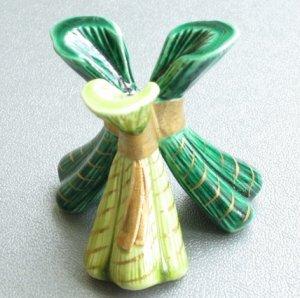 画像1: 【茶道具】 蓋置 粽  *今岡三四郎*  ちまき*端午・祇園祭にも (1)